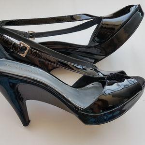 BCBG girls patent leather heels